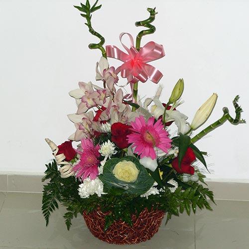 Кошница с цветя - Горски полъх