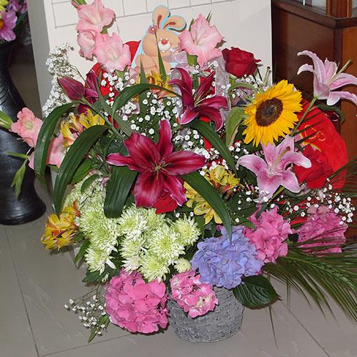 Кошница с цветя - Гора