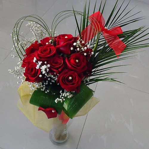 Букет с рози Любов